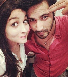 cute, Alia bhatt and varun dhawan