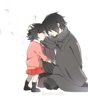 anime, dad and hinata