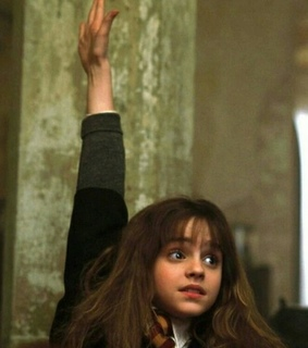 harry potter, hermoine and hogwards