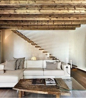 apartment, beam and cosy