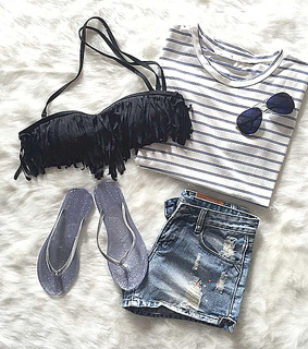 girl, perfect style and summer