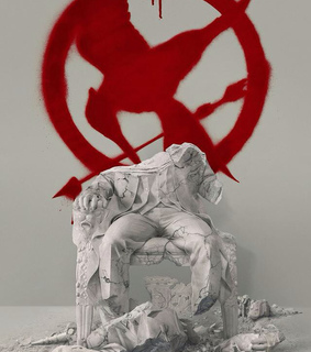 hunger games, mocking jay and president snow