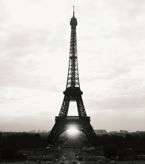 france, paris and the eiffel tower