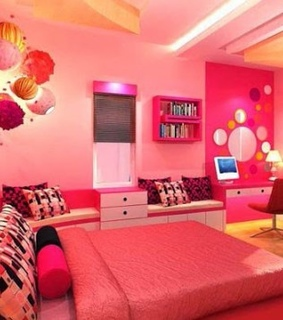 bedrooms, beutifull and pinky