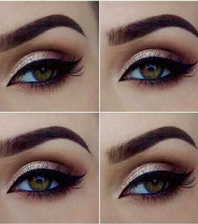 beautiful, colored eyes and cute