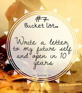 10 years, 7 and bucket list
