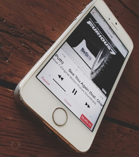 iphone, music and see you again
