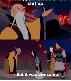 awesome, disney and funny