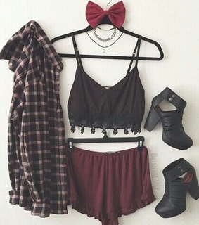 accessories, black and choker