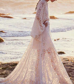 dress, fashion and gown