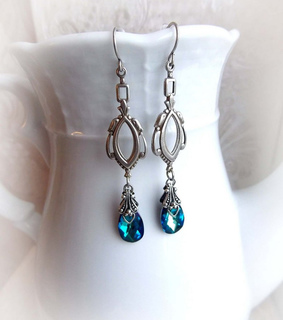 gift for her, gothic jewelry and mermaid