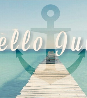 hello july, july and love summer