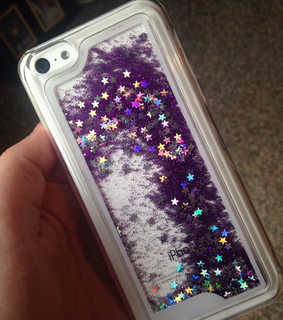 glitter, heart and iphone