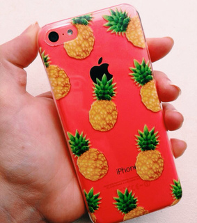 ananas, case and iphone case