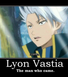 fairy tail, funny and lyon