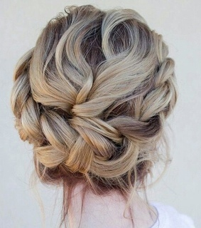blond, braid and cool