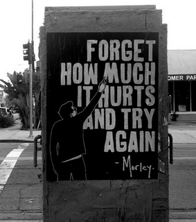 hurt, marley and try again