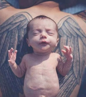 angel, bebes and tattos