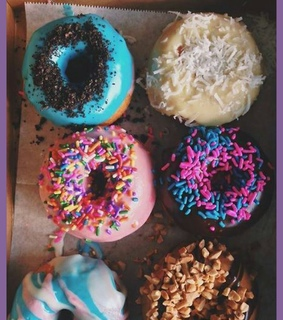 donuts, follow me and tumblr