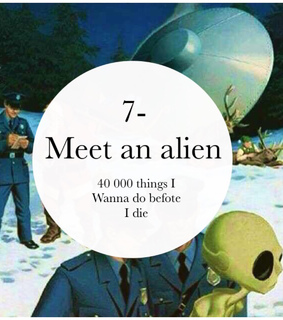 7, alien and amazing
