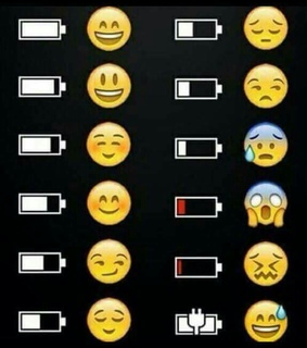 charge, cry and emoji