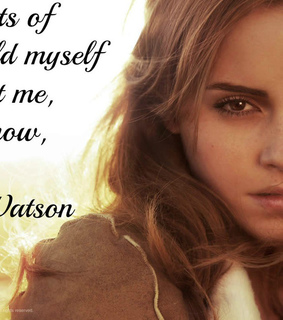 emma, hermoine and quote