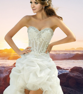 a-line wedding dress, fashion and wedding dress