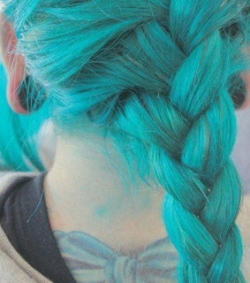 blue, braid and color