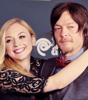 norman reedus, the walking dead and emily kinney