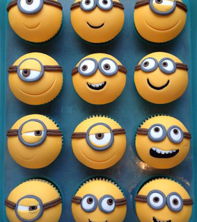 cupcakes, minions and sweet