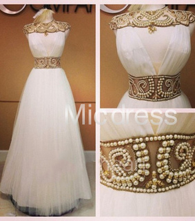 beading, evening dress and prom dress