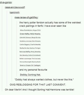 dobby, fanfiction and funny