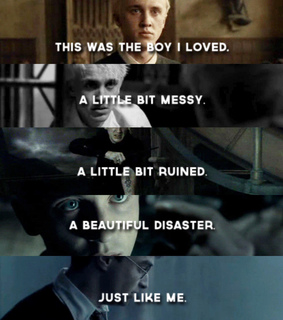 beautiful disaster, books and draco malfoy
