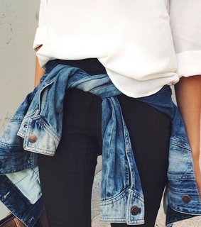 casual, chic and denim