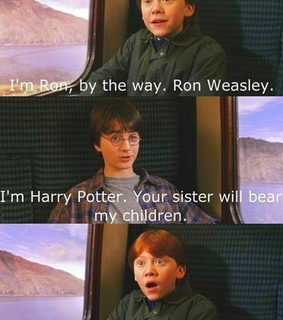 funny, ron weasly and ️harry potter