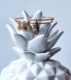 pineapple, alex and ani and summer trends