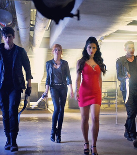 alec lightwood, clary fray and harry shum