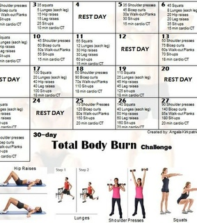 30 days, challenge and fitness