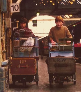 first day, friendship and ron weasley
