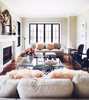 decor, home and living room