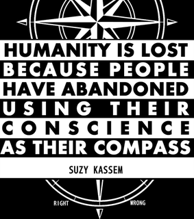 compass, conscience and humanity