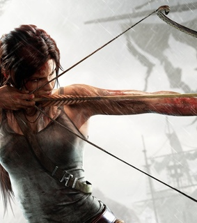 lara croft, microsoft and playstation
