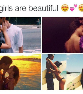 couple cute, girl and goals