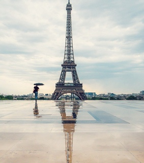 city, france and love