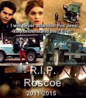 blue, jeep and r.i.p