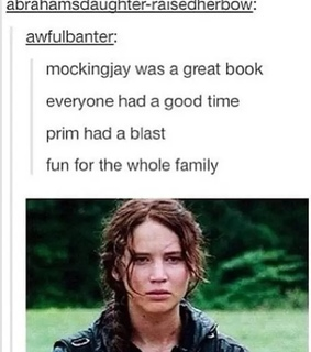 books, funny and hunger games