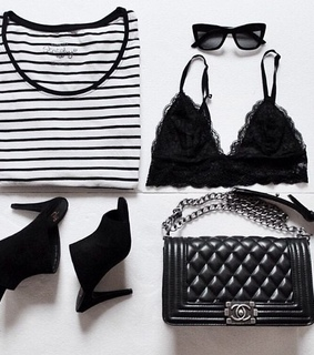 bralette, clothes and fashion