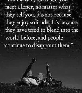 alone, disappoint and life quotes