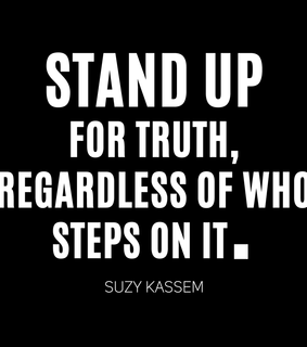life quotes, stand up and standing up