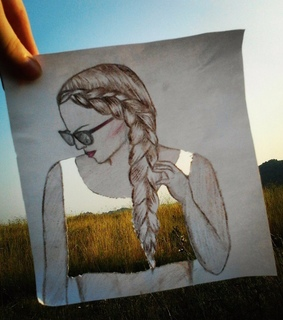 art, braids and creative